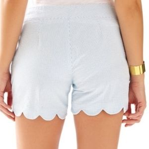 Lilly Pulitzer The Buttercup Seersucker Shorts 00